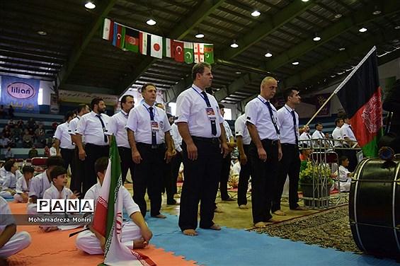 افتتاحیه چهارمین دوره مسابقات بینالمللی کاراته کیوکوشین