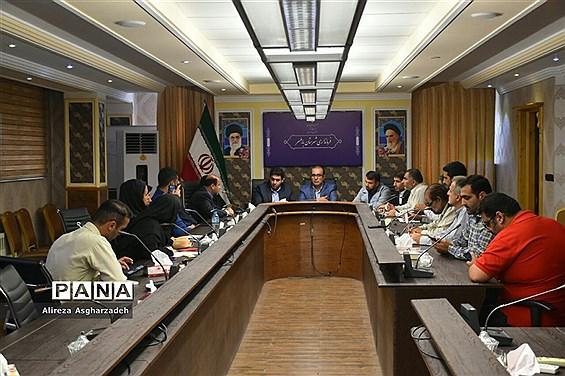 نشست خبرنگاران با مدیرکل ارشاد مازندران