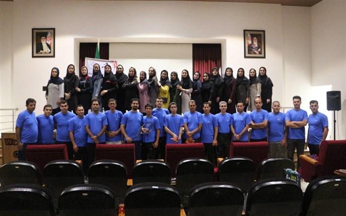 اولین دوره مربیگری سطح ۱ و داوری اسکواش ویژه روسای انجمنهای اسکواش آموزش و پرورش سراسر کشور