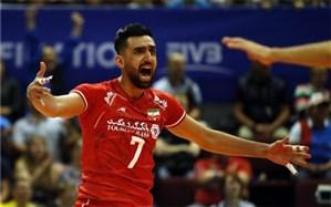 والیبال انتخابی المپیک؛ برد اول در کارنامه ایران ثبت شد