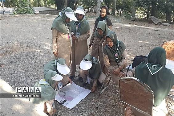 دومین روز حضور پیشتازان  دخترخوزستانی در اردوی ملی تهران  امرداد ۹۸