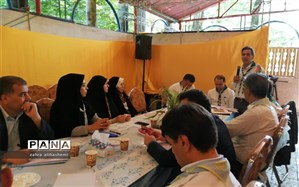 روشنی: نشاط منسجم دانش آموزان در اردوی ملی همه را به وجد آورد