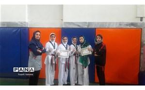 درخشش دختران هوگوپوش چنارانی در مسابقات قهرمانی بسیج  خراسان رضوی