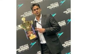 درخشش مربی کرمانشاهی در مسابقات تکواندو قهرمانی نوجوانان آسیا