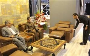حضورفرماندار اسلامشهردر بیست و هفتمین نمایشگاه بین المللی مبلمان منزل
