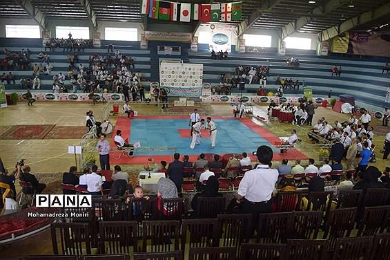 اختتامیه مسابقات بین المللی کاراته کیوکوشین در فریدونکنار