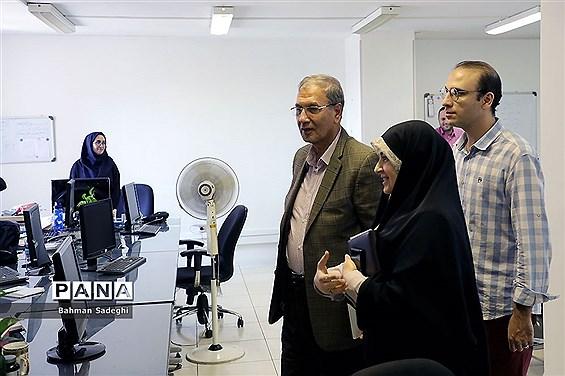 بازدید سخنگوی دولت از خبرگزاری پانا