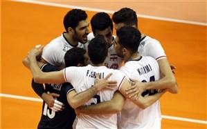 والیبال قهرمانی آسیا؛ ایران پازل نیمه نهایی را تکمیل کرد