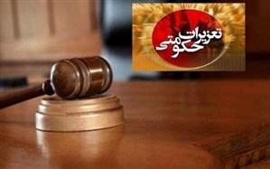 جریمه شرکت واردکننده کاغذ گلاسه و مقوا در تبریز