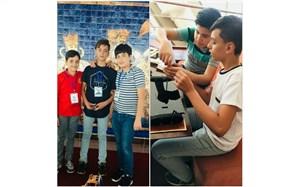 حضور سه دانش آموز مستعد بیجاری در مسابقات جهانی رباتیک مالزی