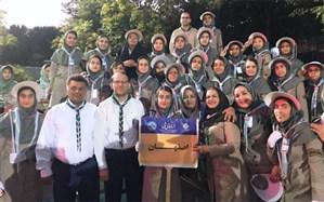 بازگشت پیشتازان دختر اصفهان از اردوی ملی