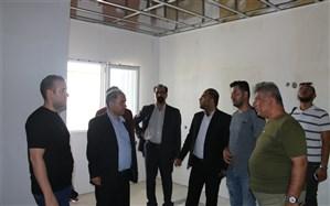 بازدید انجمن مهندسین شهرقدس از پروژه در حال ساخت بیمارستان ۱۶۰ تختخوابی
