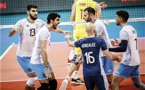 انتخابی والیبال المپیک؛ آرژانتین المپیکی شد