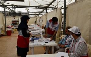 فعالیت شبانهروزی پزشکان ایرانی دربیمارستان صحرایی منا
