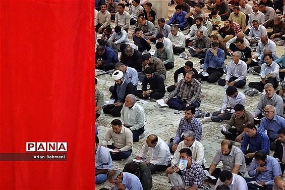 برگزاری دعای عرفه حسینیه اعظم زنجان