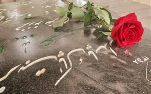 مراسم غباروبی گلزار شهدای شهرستان میناب
