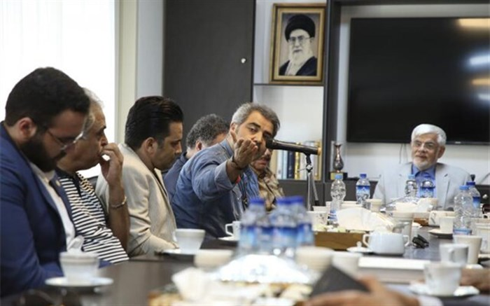 محمدرضا عارف: هنر صدا و سیما سرمایه سوزی است/ جای آثار فاخر همچون هزاردستان خالی است