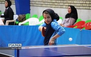 البرز قهرمان مسابقات تنیس روی میز دانشآموزان دختر کشور شد