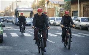 حناچی: سهم دوچرخهسواری در تهران کمتر از یک درصد است