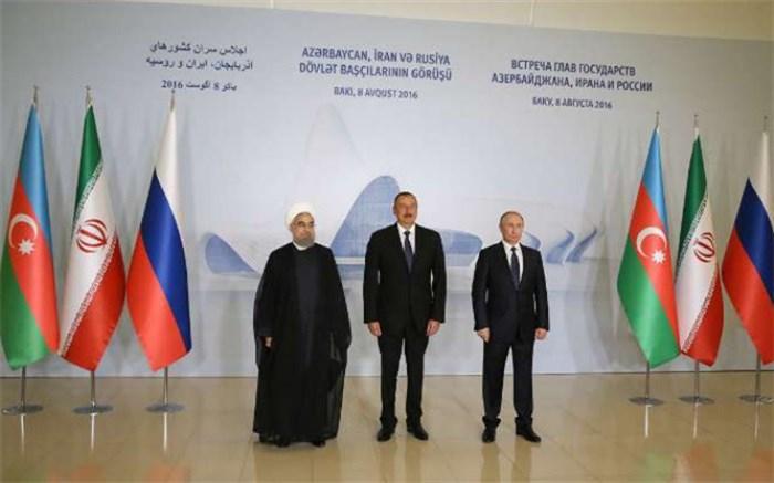 ایران روسیه و آذربایجان