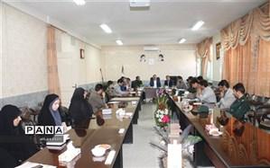 برگزاری جلسه کمیته پشتیبانی برنامه های ابلاغی بسیج دانش آموزی کلات