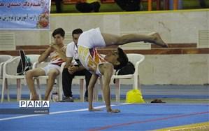 تیم تهران قهرمان مسابقات کشوری ژیمناستیک دانشآموزان در شهرکرد شد