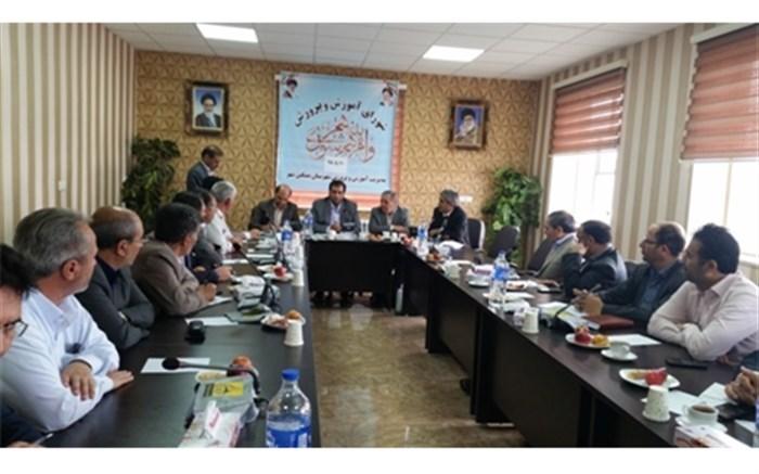 جلسه شورای آموزش و پرورش شهرستان مشگین شهر