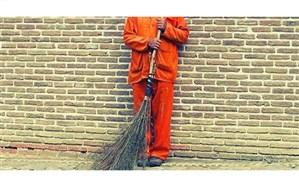لباس گشاد «رفتگری»  بر قامت کوچک کودکان کار