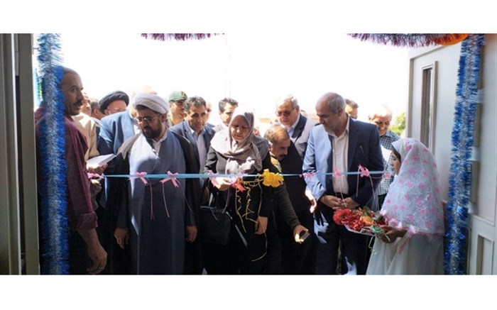 آموزشگاه ابتدایی فروزان گهر منطقه تسوج افتتاح شد