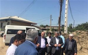 هیات نظارت وزارت کشور از مناطق سیلزده مازندران دیدن کرد