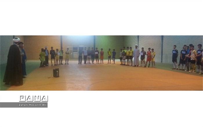 برگزاری مسابقات فوتسال ویژه جام غدیرخم درشیروان