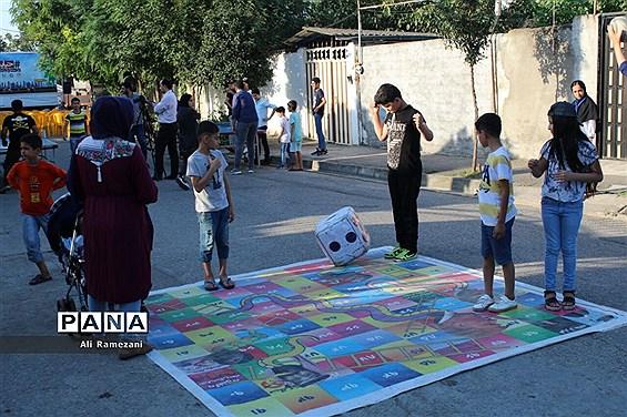 اجرای طرح «خیابان ورزش»  در قائم شهر