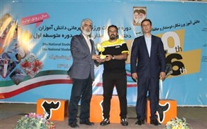 اهدای تندیس زیستمحیطی مسابقات ورزشی قهرمانی دانشآموزان به استانهای کرمان، گلستان و شهر تهران
