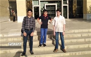 راهیابی دانش آموزان دبیرستان شهید ذوالفقاری میبد به مرحله کشوری  کارسوق ریاضی