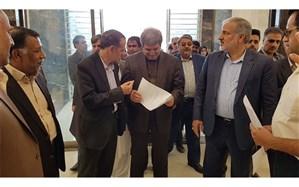 بازدید سرپرست وزارت آموزش و پرورش از روند ساخت بیمارستان 64 تخت خوابی فرهنگیان زاهدان
