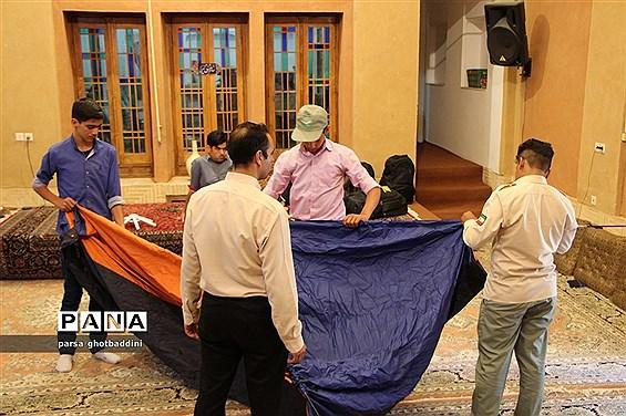 پیش اردوی آمادگی دانشآموزان پسر پیشتاز استان یزد