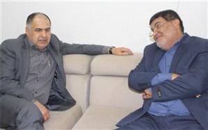 دیدار معاون مطبوعاتی وزارت فرهنگ  و ارشاد اسلامی با پیشکسوت مدیر خبرگزاری ایرنا بوشهر