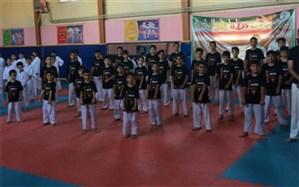 برگزاری مسابقات کاراته شیتوریودو درشهرستان ملارد
