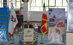 رئیس بنیاد شهید فیروزکوه: شهید پروری مردم فیروزکوه وابستگی آنهارابه نظام  اثبات کرد