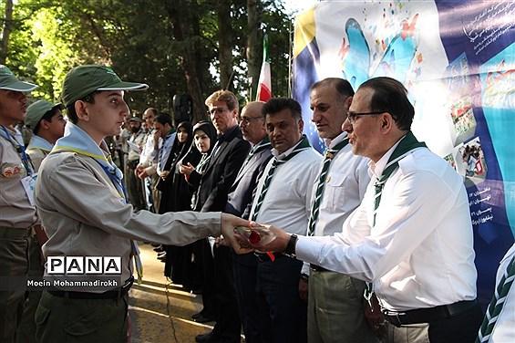 رژه پیشتازان پسر در نهمین دوره اردوی ملی