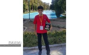 کسب مقام سوم کشوری توسط دانش آموز تایبادی