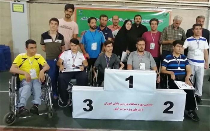 موفقیت تیم اعزامی زنجان