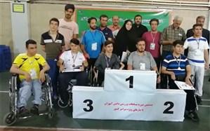 کسب سه مدال کشوری توسط دانش آموزان پسر با نیازهای ویژه در بیستمین دوره مسابقات ورزشی در تهران