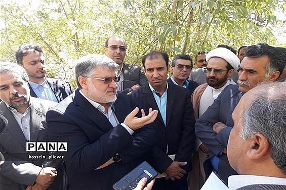 سفر استاندار خراسان جنوبی به شهرستان خوسف