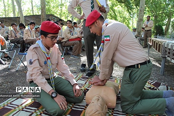 اولین روز نهمین اردوی ملی پیشتازان پسر کشور