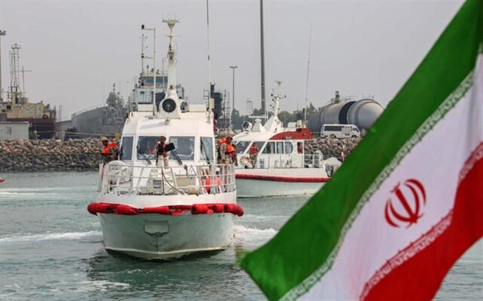 توقیف شناور حامل مشروبات الکلی در خلیج فارس