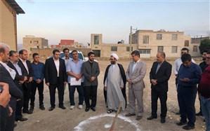 با حضور رئیس فدراسیون کشتی کلنگ احداث خانه کشتی محلات زده شد