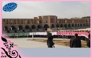 کسب رتبه های اول و دوم کشوری در مسابقات سرود همگانی توسط دانش آموزان اصفهان