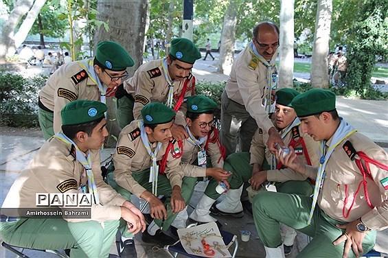 فعالیتهای دانشآموزان پیشتاز در اولین روز از نهمین دوره اردو ملی پیشتازان سراسر کشور