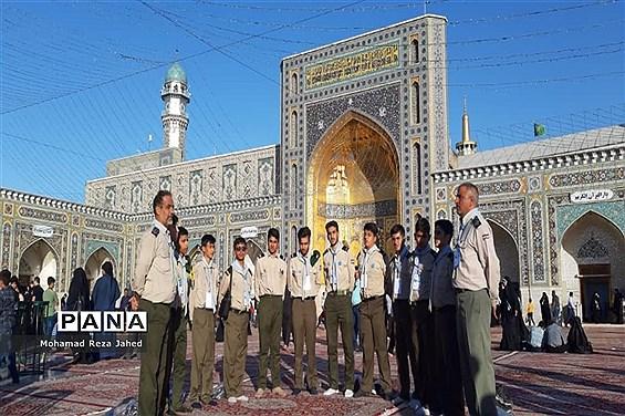 اولین روز حضور پیشتازان پسر خوزستان در اردوی ملی نیشابور